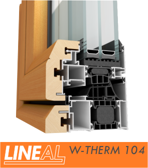 Sistem LINEAL W-THERM 104