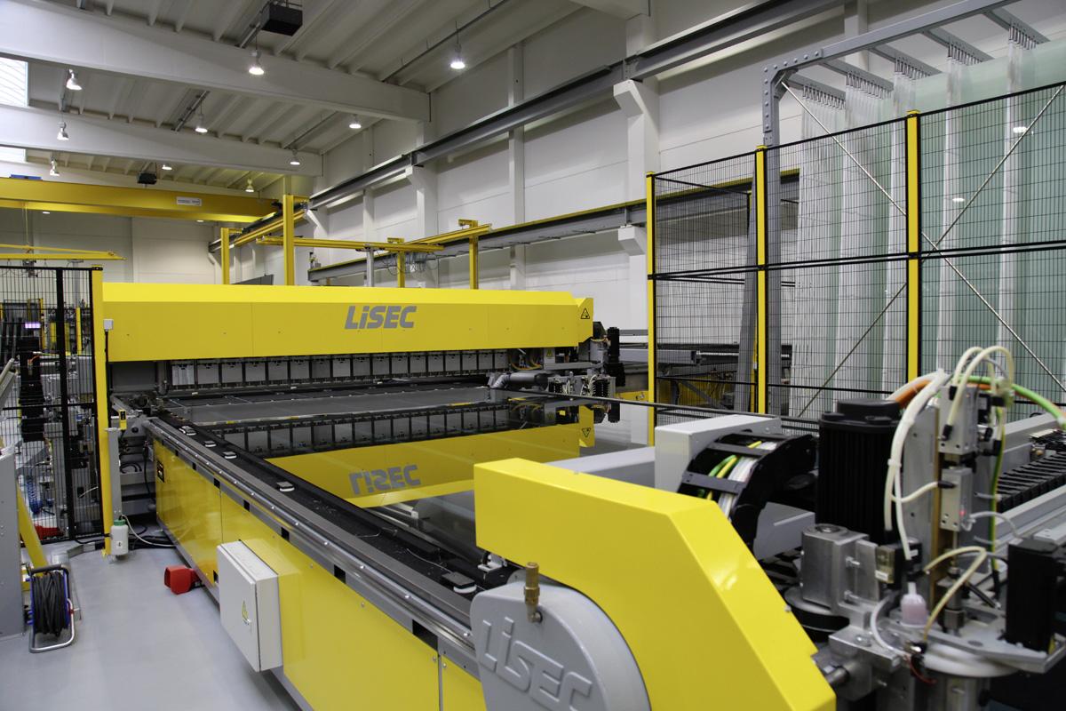 LiSEC mašine za obradu stakla