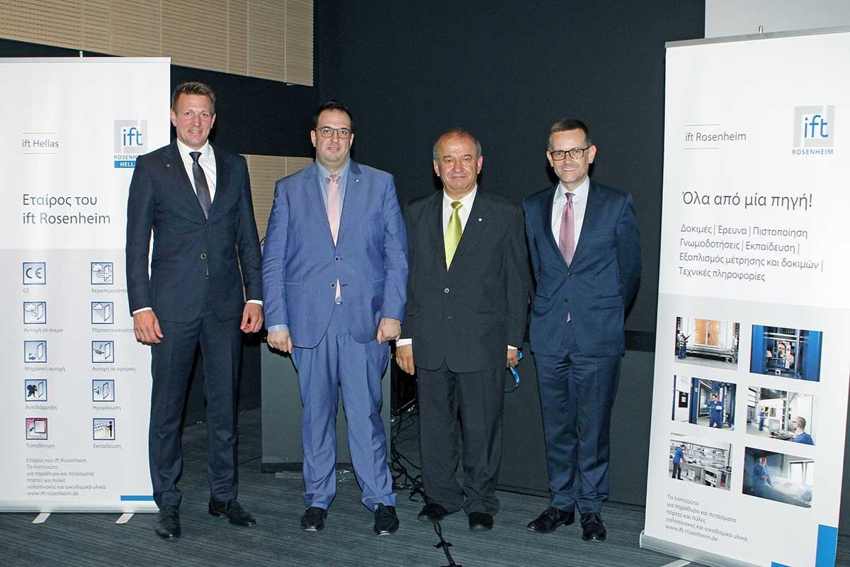 Matthias Föhleke, Dimitrios Moustakidis, Dr. Georgios Moustakidis, Dr. Jochen Peichl