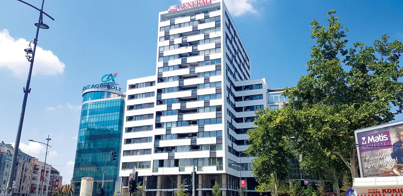 Građevinarstvo u Srbiji, Novi Sad - ALU stolarija