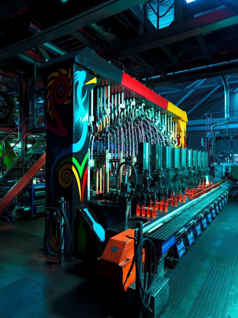 Moderna fabrika i proizvodni pogon, Wiegand-Glas