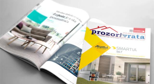 NOVO izdanje časopisa PROZORI&VRATA, broj 25, avgust 2018