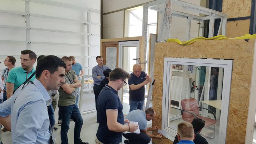 Seminar ugradnje stolarije na engleskom - ift Rosenheim