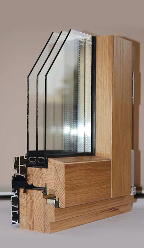 "Prozori drvo-aluminijum sistem ""Šamarica"""