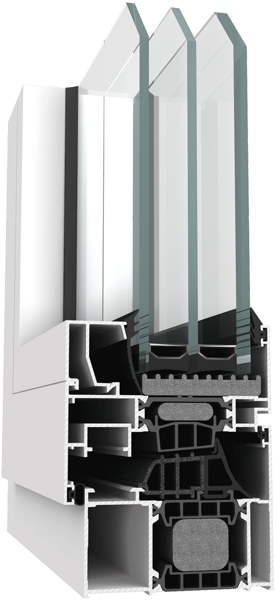 Tehnomarket d.o.o. LINEAL THERM 77 sistem