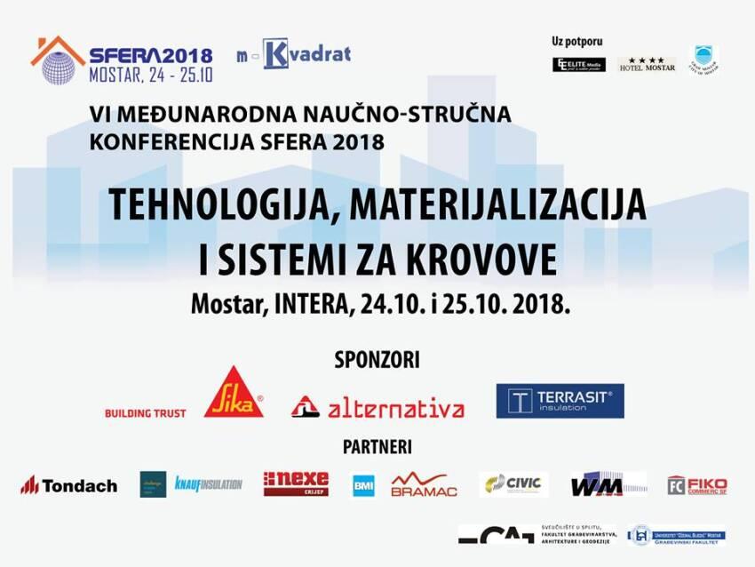 Sfera 2018: Tehnologija, materijalizacija i sistemi za krovove