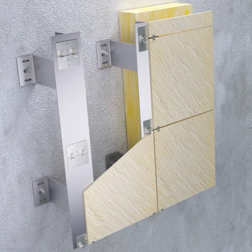 Tehnomarket VENT - fasadni sistem podkonstrukcije