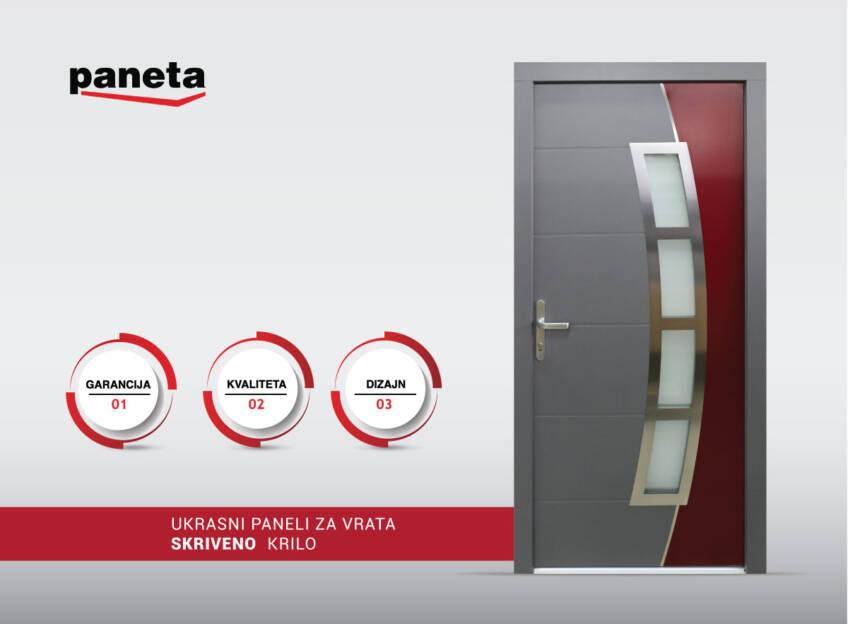 Paneta d.o.o. ulazna vrata