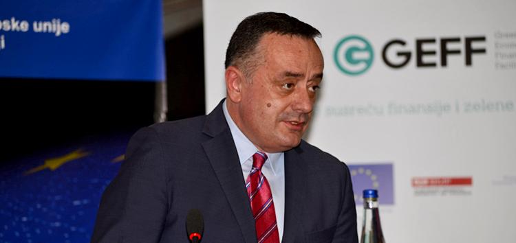 Aleksandar Antić, ministar rudarstva i energetike iz Vlade Republike Srbije