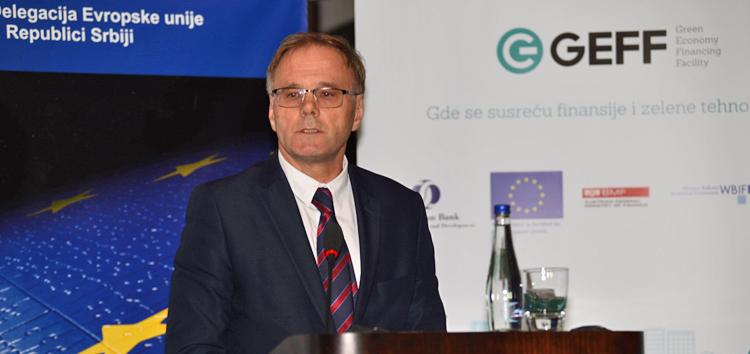 Leander Trepel, predstavnik u upravnom odboru EBRD