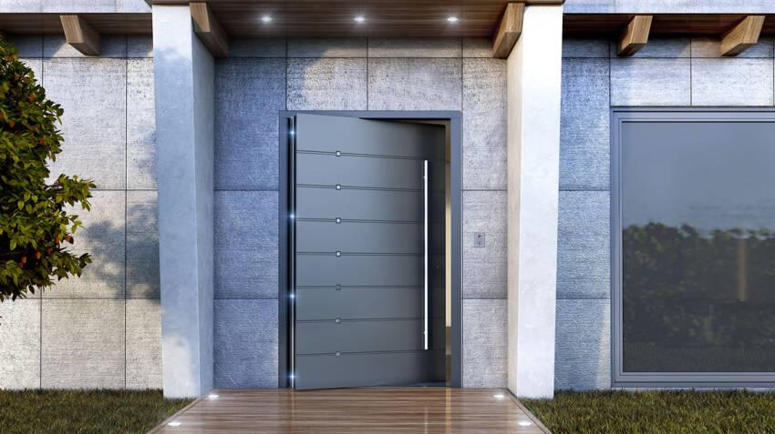 TEHNI ulazna vrata sa skrivenim krilom