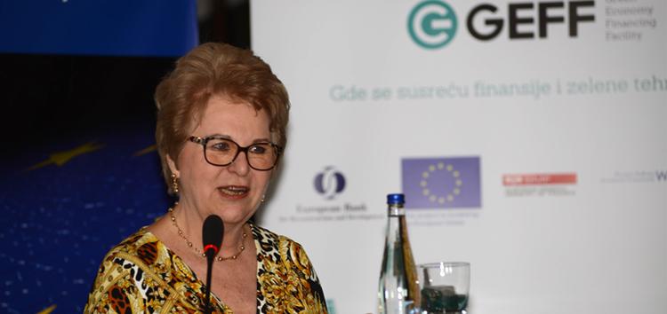Violeta Kogalničeanu rukovodilac odeljenja za infrastrukturu i energetsku efikasnost