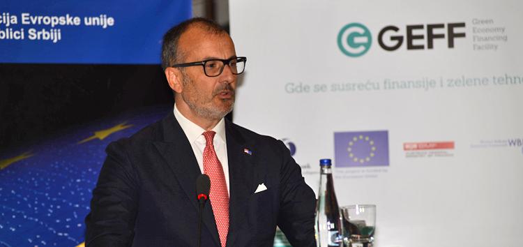 njegova ekselencija Sem Fabrici, ambasador i šef Delegacije Evropske unije u Republici Srbiji