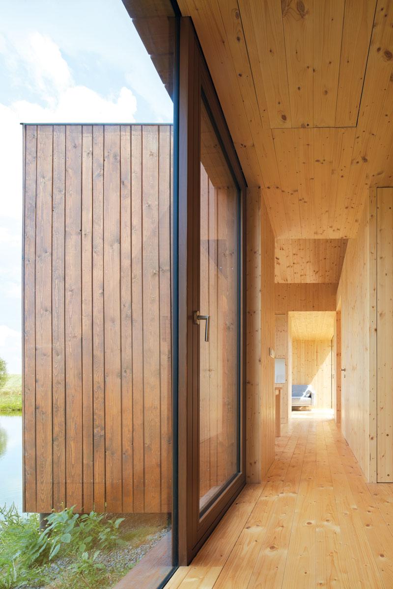 Aluminijum-drvo terasna vrata