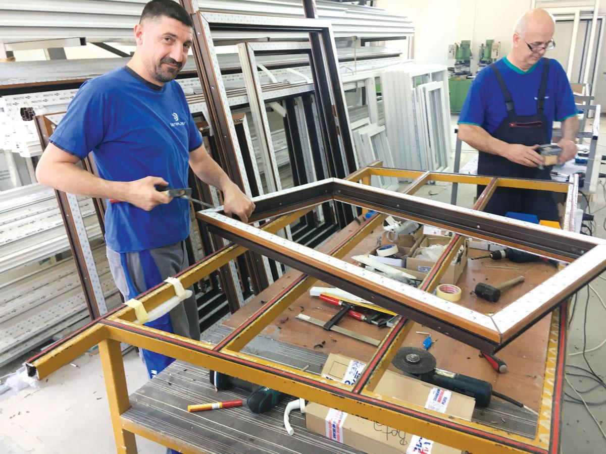 Betaplast proizvodnja ALU i PVC stolarije