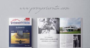 Časopis PROZORI&VRATA, izdanje za Hrvatsku broj 12, prosinac 2018