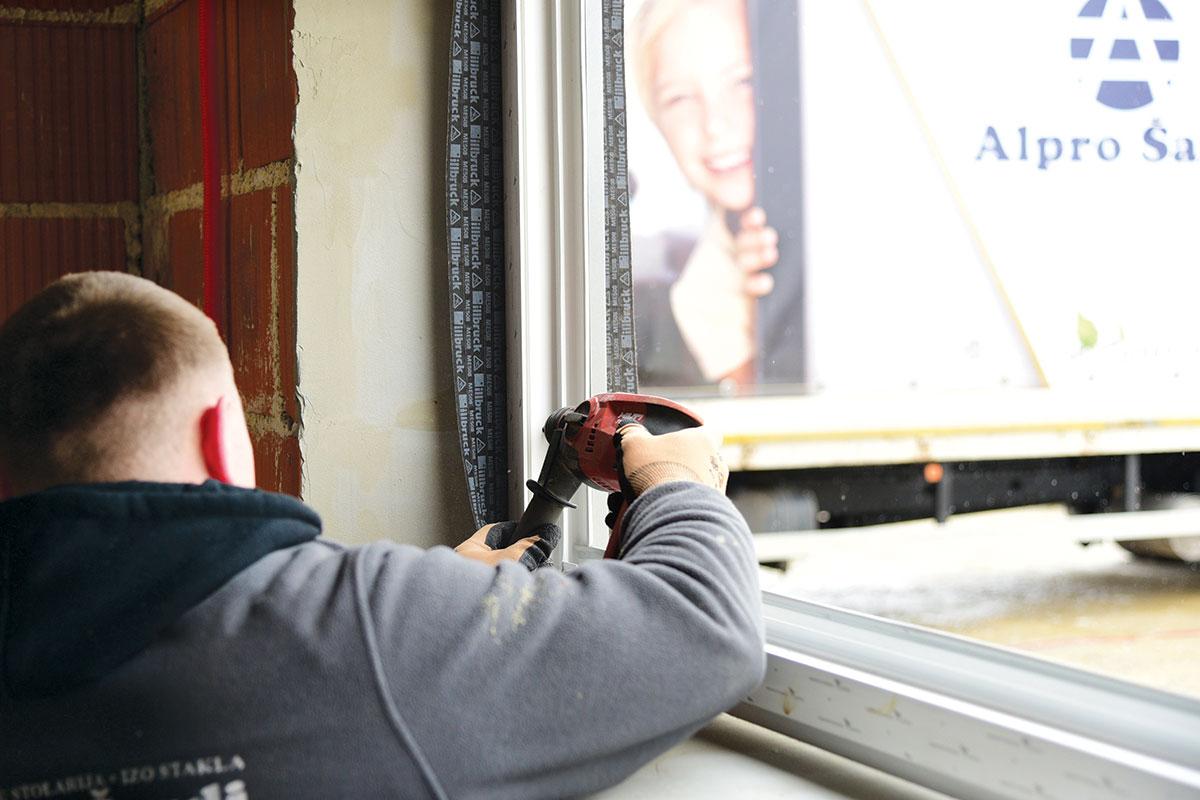 Pravilna ugradnja prozora - RAL montaža / foto: profine
