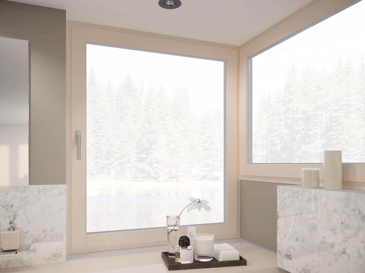 Elegantan izgled stakla za prozorske profile / REHAU