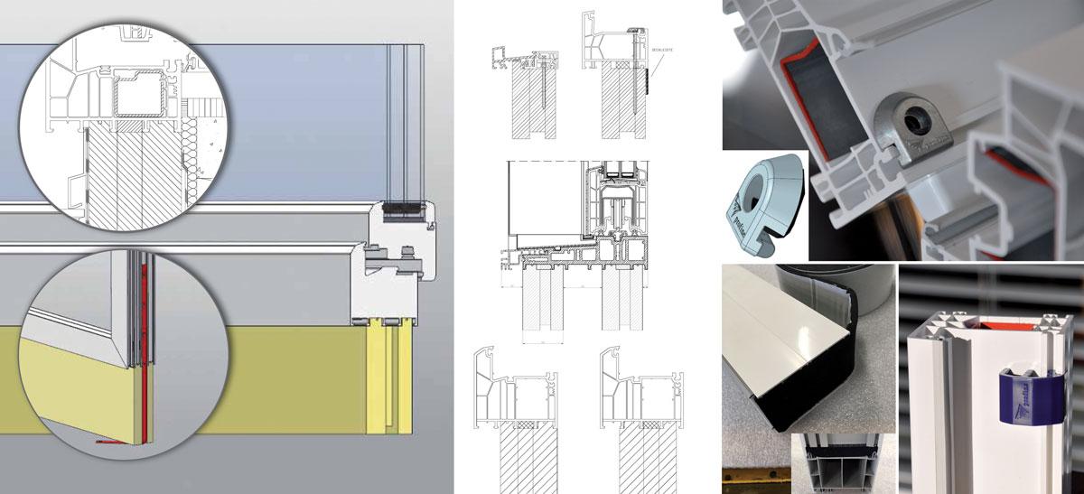 Ukupna kvaliteta prozora i vrata ovisi o kvaliteti dijelova od kojih su izrađeni