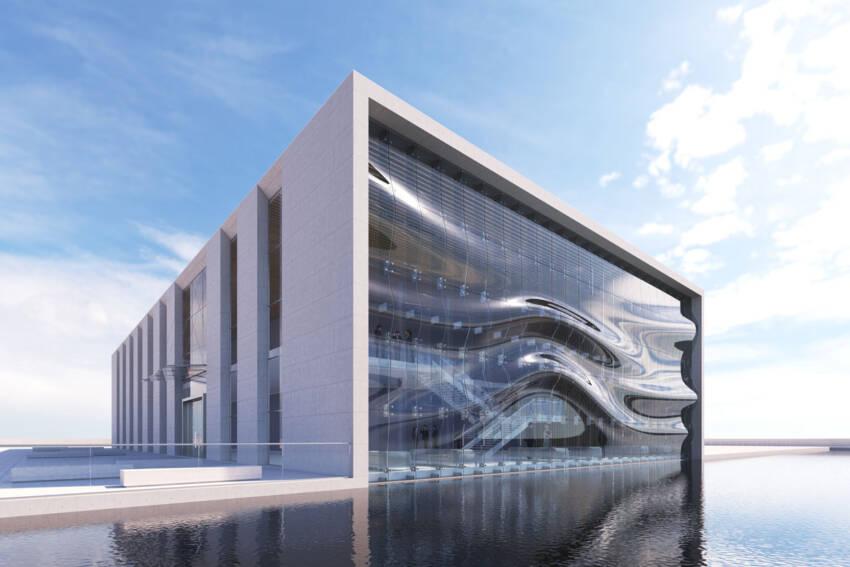 Fasada 3D staklo kompanije PRESS GLASS