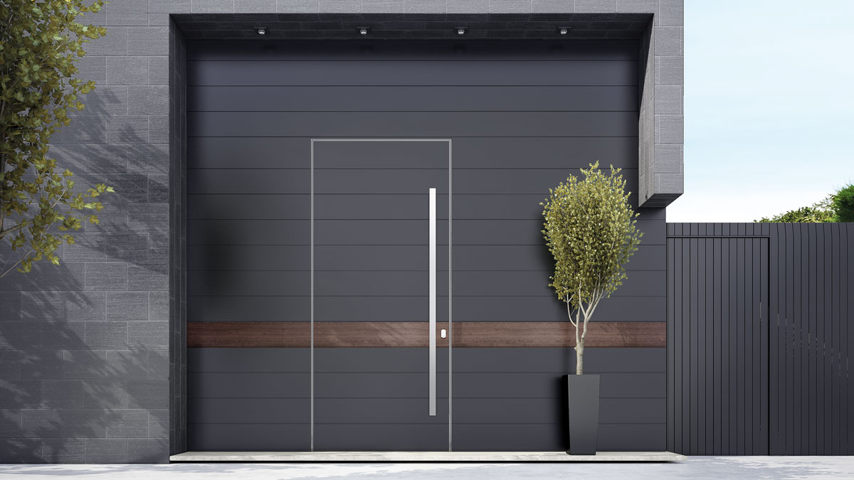 TEHNI vrata - ulazna vrata velikih dimenzija