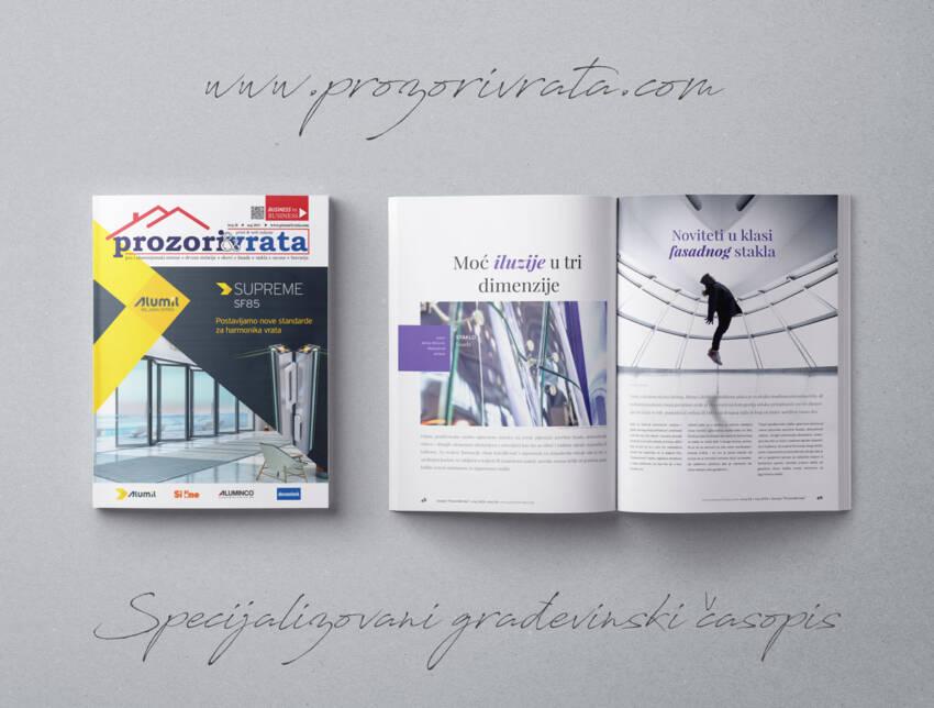 časopis Prozori&Vrata broj 28, maj 2019