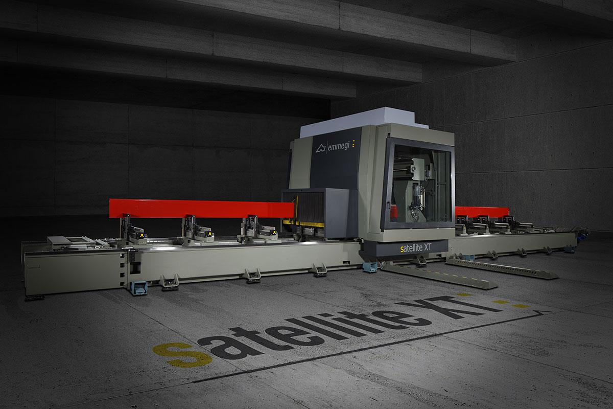 ESTE TEAM doo - EMMEGI mašine za precizno rezanje profila i CNC obradni centri