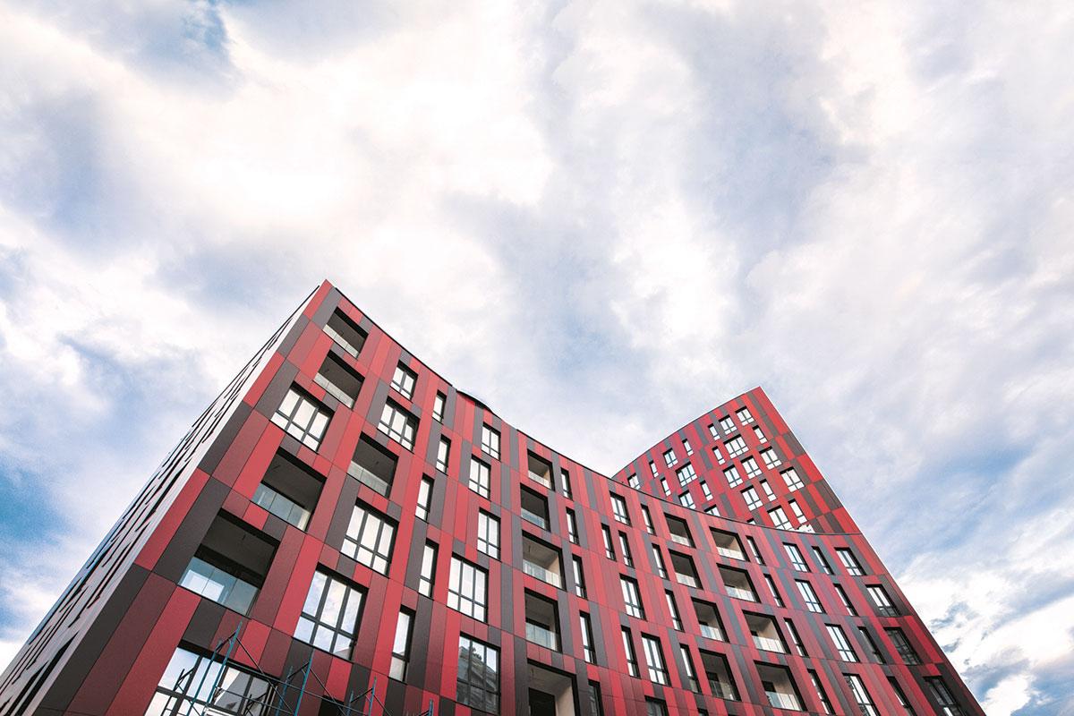 Larcore A2 aluminijumski fasadni panel kompanije Tehnomarket