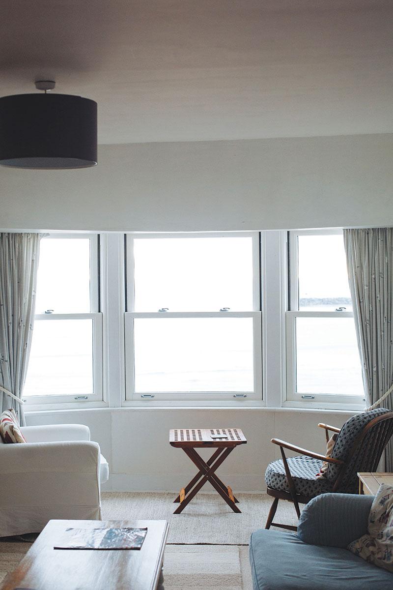 PVC stolarija u stambenom objektu, dnevna soba