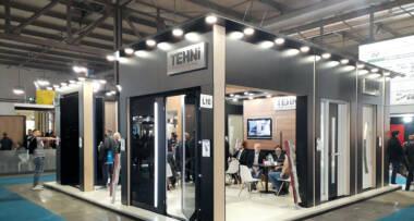 Ulazna vrata - TEHNI izlagač na sajmu u Milanu