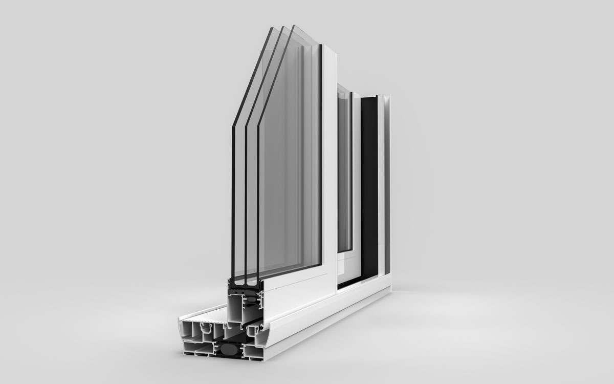 Aluminijski klizni sistem SLIDE T67 - Tehnomarket