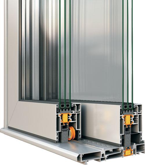Aluminijumska stolarija prozori klizna vrata presek profil