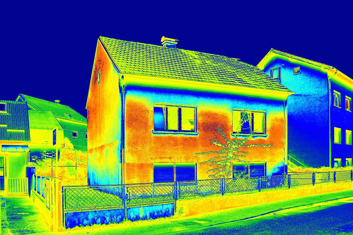 Mjesta za gubljenje energije porodična kuća