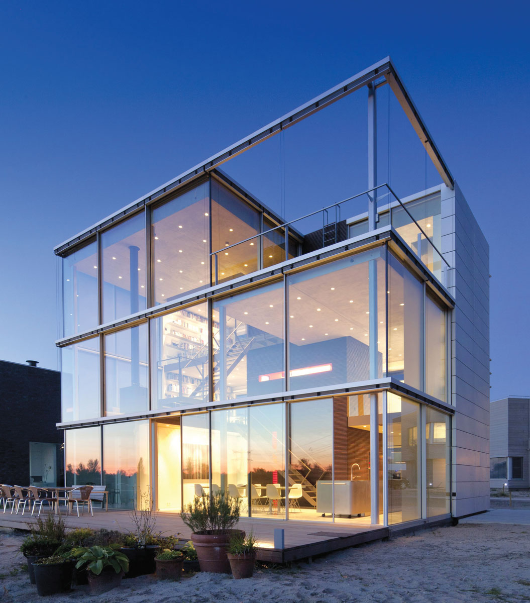 Moderna arhitektura, aluminijum