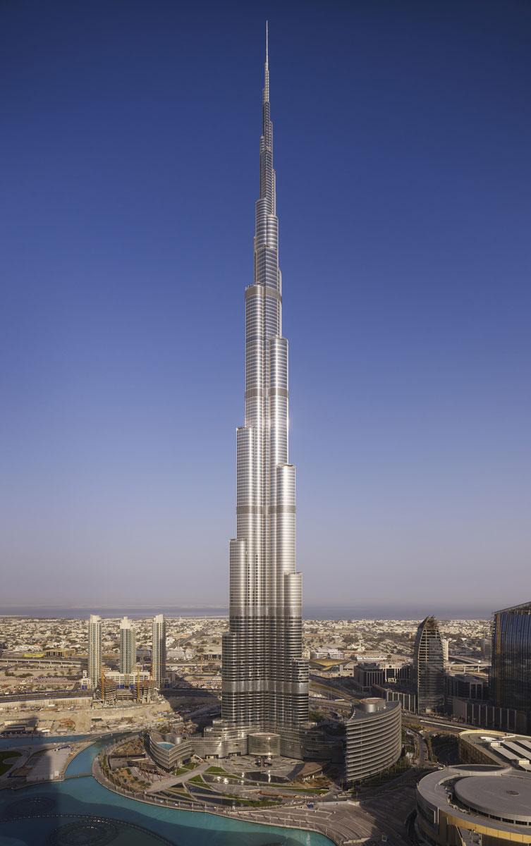 Burj Khalifa, Dubai, UAE - Photo credits: SOM