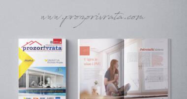 Časopis PROZORI&VRATA broj 29, avgust 2019