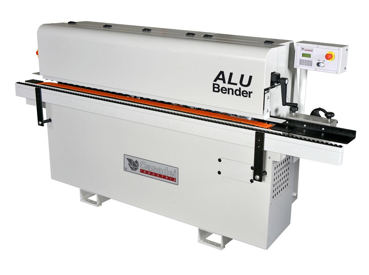 Mašina za glodanje i savijanje ivica arhitektonskih panela  - ALU BENDER