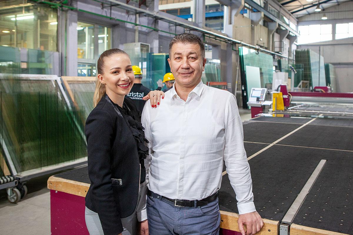 Matea i Nikola Franjić, kompanija Kristal