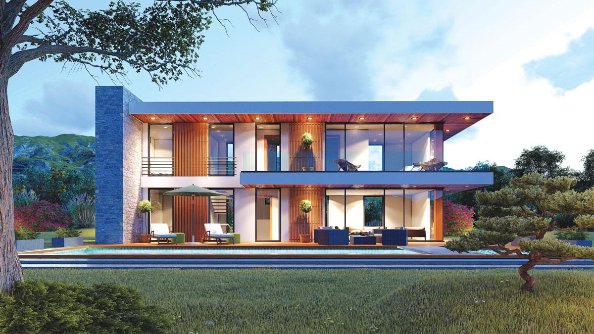 Moderna arhitektura i stolarija od aluminijuma