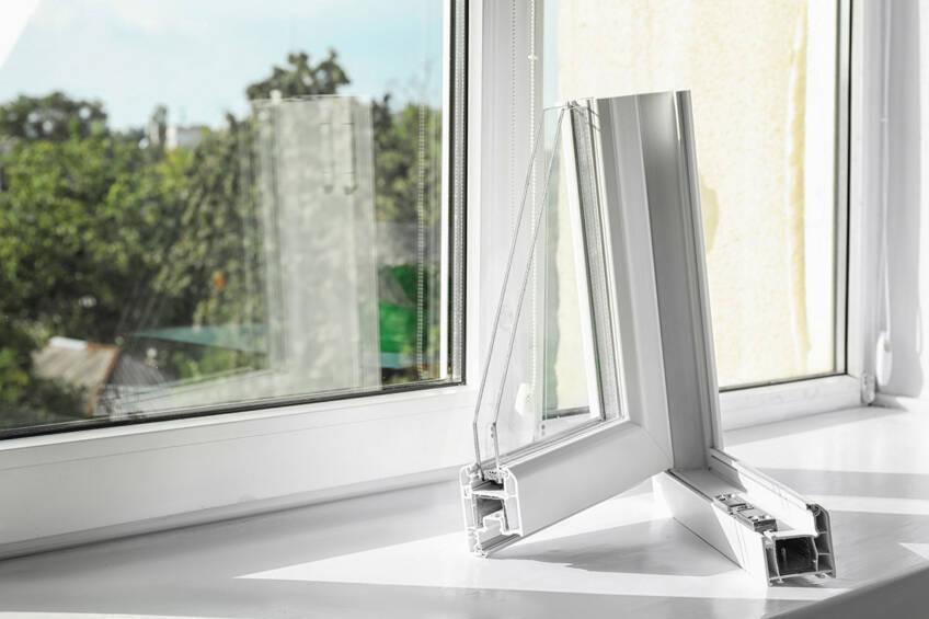 Staklo na PVC prozorima