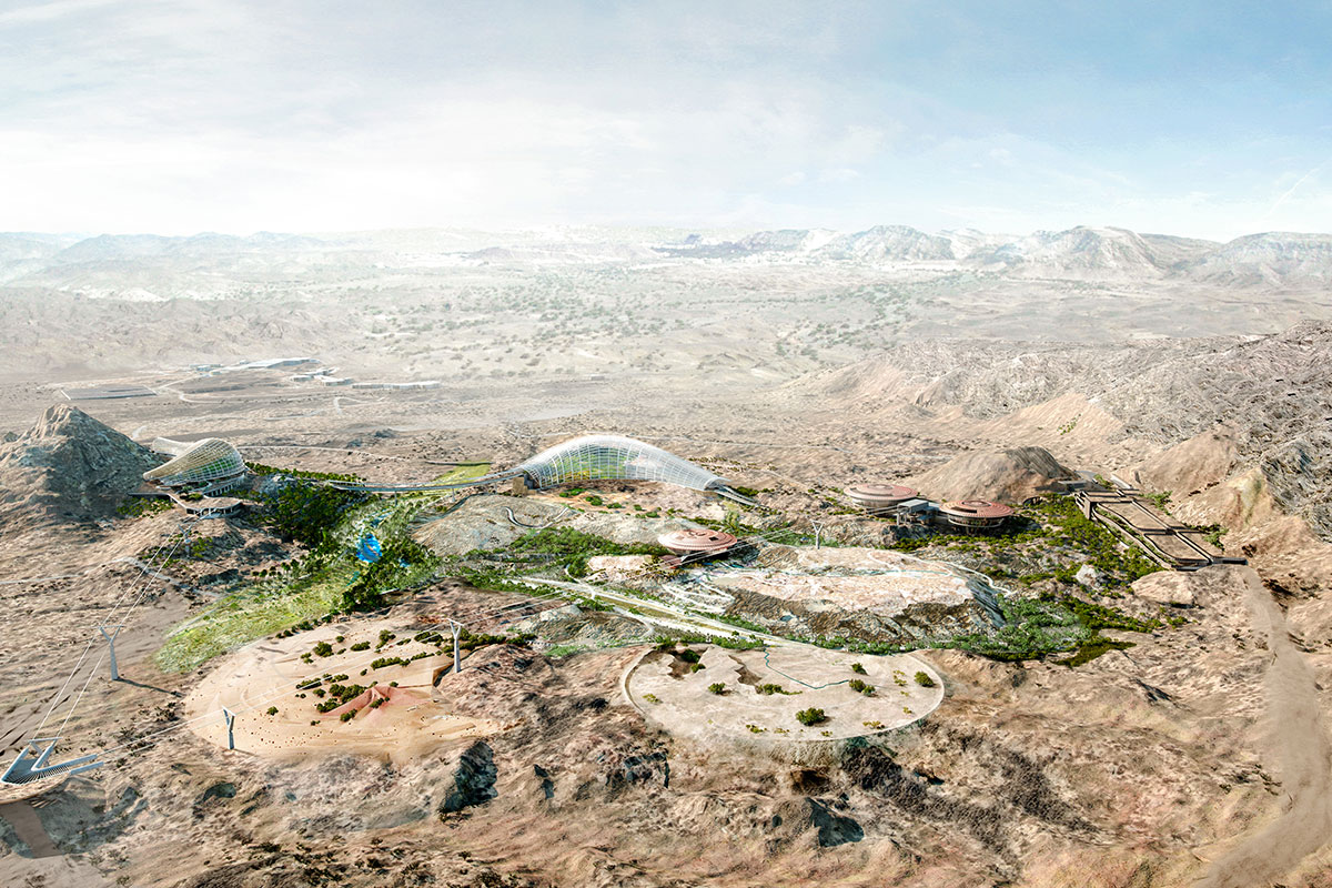Oman Botanic Garden- Site Overview - Photo credits: Grimshaw Architects