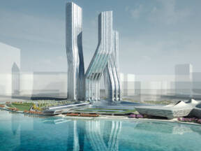 Signature Towers, Dubai - Photo credits: Zaha Hadid Architects