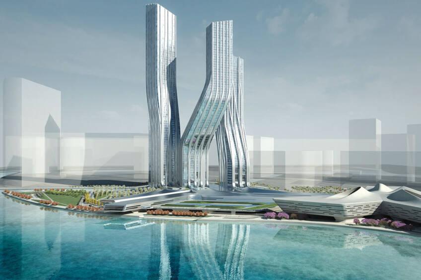 Signature Towers, Dubai - Photo credits: Zaha Hadid Architects