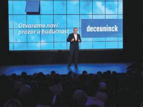 Josip Klasić na rebranding eventu u Osijeku