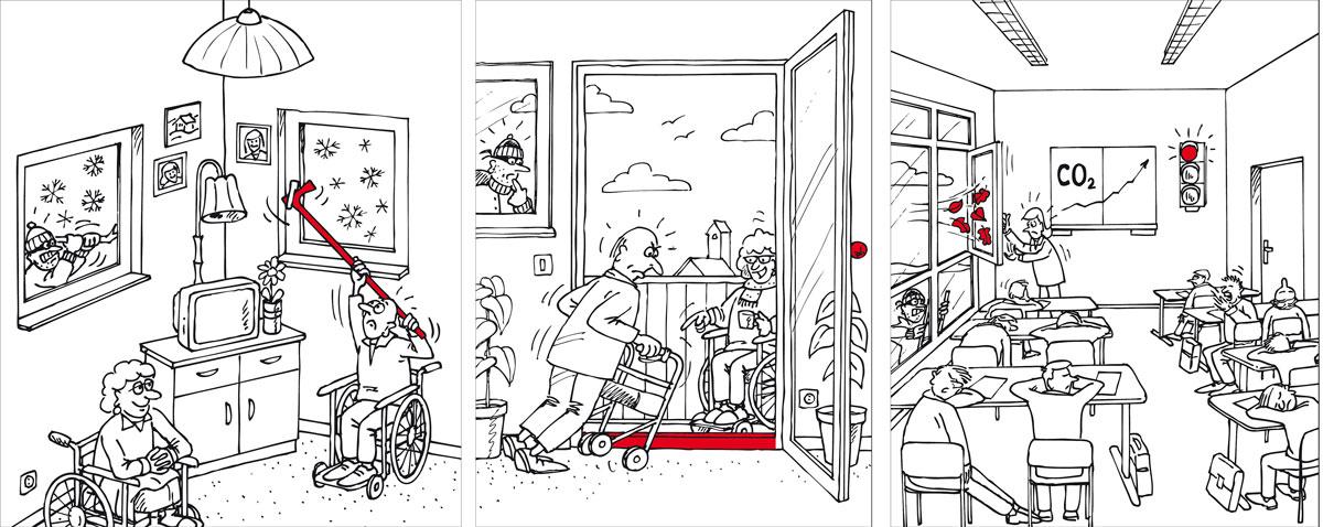 Slika 3 Prozori i vrata s pametnim funkcijama kuće nude brojne prednosti za udobnost, sigurnost i kvalitetu zraka