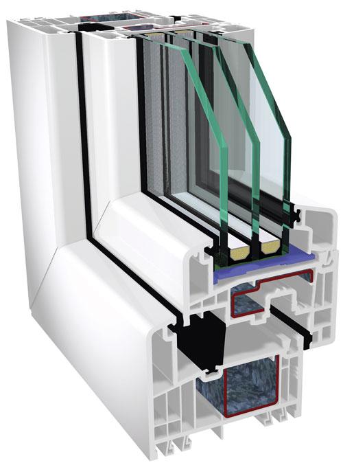 GEALAN pvc profil za prozore i vrata