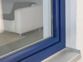 GEALAN pvc stolarija - Prozori i vrata u plavoj boji