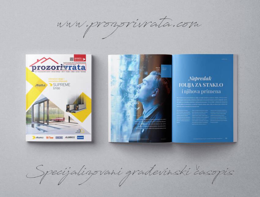 Časopis PROZORI&VRATA broj 30, novembar 2019