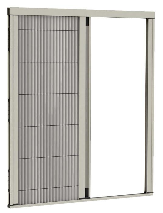 Patentirani sistem ROYAL komarnika - klizni profil sa metalnom sajlom-kanapom