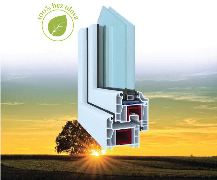DORLION sistem PVC profila za prozore i vrata - distributer kompanija MIREX